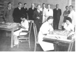 Medarbeidarane på BSR-kontoret