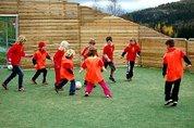 Aktivitet i ballbingen
