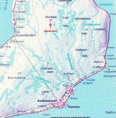 kart ringvassøy Preparerte skiløyper på Ringvassøya   Karlsøy kommune kart ringvassøy