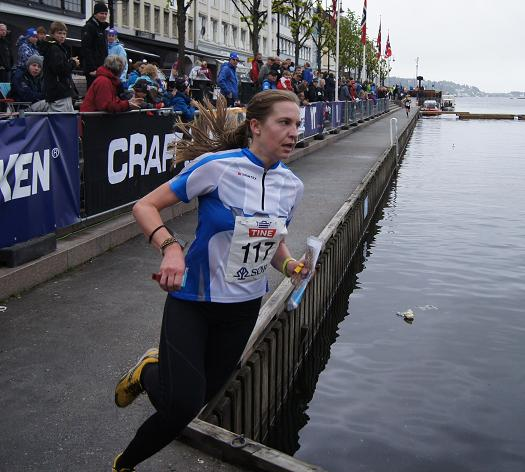 Elise Egseth, Wing OK, vant sitt første NM gulI Arendal. Foto: Vidar Benjaminsen