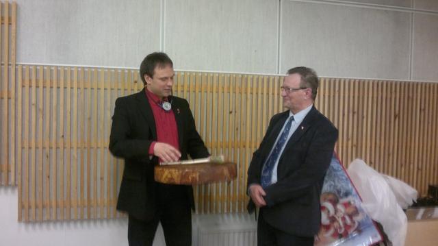 Frank Ingilæ and Kjell Sæther