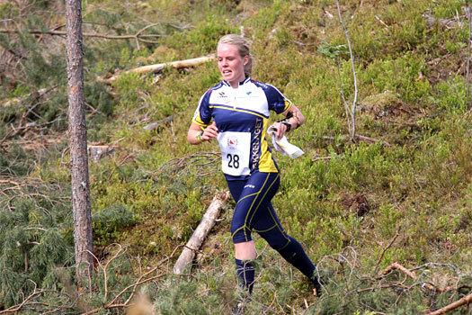 Heidi Østlid Bagstevold i VM-uttaksløpet i Hønefoss og Ringerike 2012. Foto: Geir Nilsen/OPN.no.
