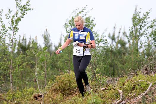 Gøril Rønning Sund i VM-uttaksløpet i Hønefoss og Ringerike i mai 2012. Foto: Geir Nilsen/OPN.no.