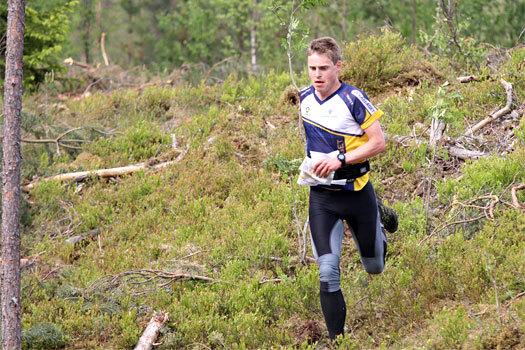 Carl Waaler Kaas i et VM-uttaksløp like utenfor Hønefoss i Ringerike i mai 2012. Foto: Geir Nilsen/OPN.no.