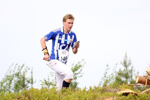 Eskil Kinneberg i et VM-uttaksløp for senior like utenfor Hønefoss i Ringerike i mai 2012. Foto: Geir Nilsen/OPN.no.
