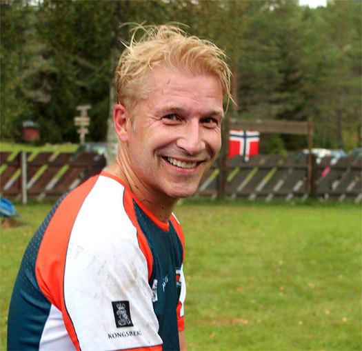 Litt blondere og noen år eldre enn da han var en av landets beste juniorer for vel 20 år siden, Rune Fleischer (Larsen). Han tilhørte den framgansgrike juniorklubben BOS. Foto: Hans L. Werp.
