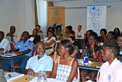 Training participants Namibia 400p