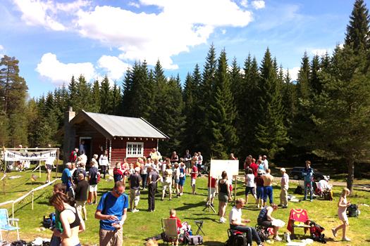 Finnemarka Vårløp i regi av Viul OK Kartlofferne. Foto: Geir Nilsen/OPN.no.