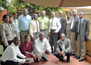 Corrected Task Force Members at a meeting 11-03-2010 KIBOKO Town Hotel 300p.jpg
