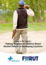 Front page - Training Programme Alcohol Policy -180p