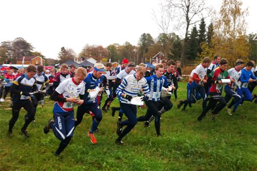 Fra starten i Blodslitet 2013. Foto: Geir Nilsen/OPN.no.