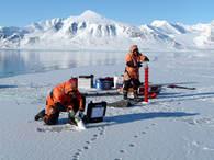 Is og prøvetaking Kongsfjord_600x450
