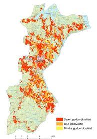 jordsmonnskart spydeberg