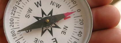 Kompassbilete. Foto : Wikipedia (CC)
