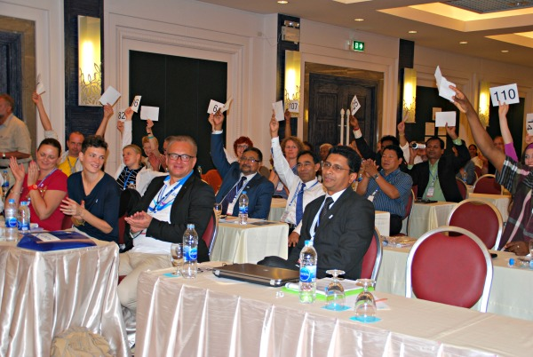 Pubudu voted in as vise president 600p.jpg