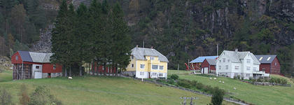 Gardsmiljø på Nordkvingo
