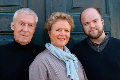 Frå venstre Ole Didrik Lærum, Reidun Horvei og Per Inge Hove