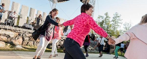 Dans i Gulatingsparken