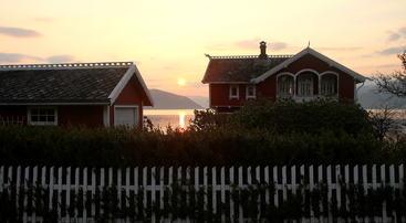 Morgonsol i Villavegen
