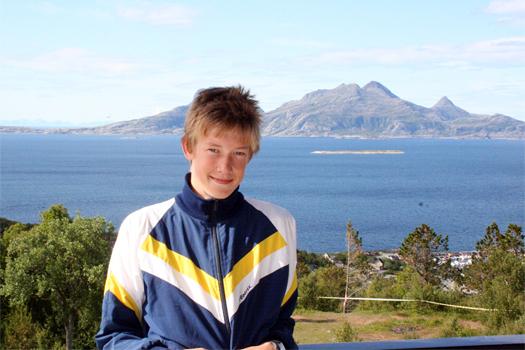 Håvard Irgens fra da han herjet i ungdomsklassene for noen år siden. Nå er 96-årgangen eldre junior. Foto: Geir Nilsen/OPN.no.