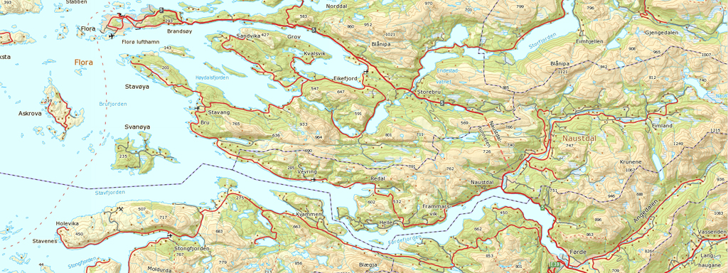 kart sogn og fjordane Kart   Sogn og Fjordane fylkeskommune kart sogn og fjordane
