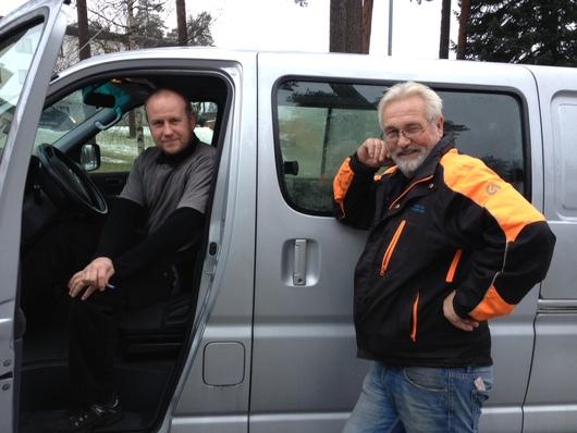 Hjelpemiddelteknikere Halvard og Leif