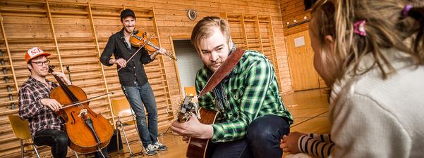 Skulekonsert med Vikinj Trio, Den kulturelle skulesekken.