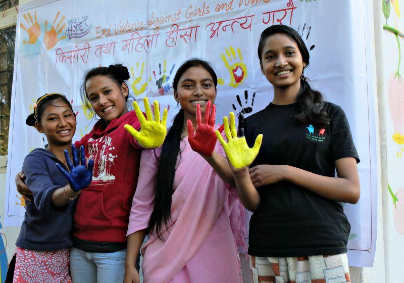 Children in Nepal Balika hands against gbv 800p.jpg