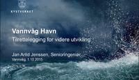 Presentasjon av Vannvåg havn