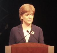 Nicola Sturgeon speaking 800p