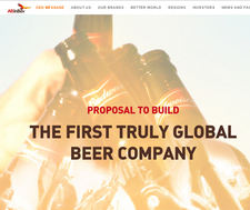 The first truly global beer company
