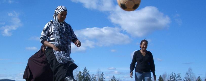 flykt fotball