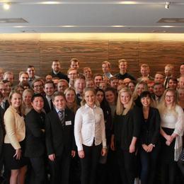 Gruppebilete av Ungdomens Nordiska Råd 2015