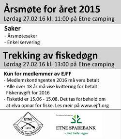 Annonse Årsmøte 2015 270216