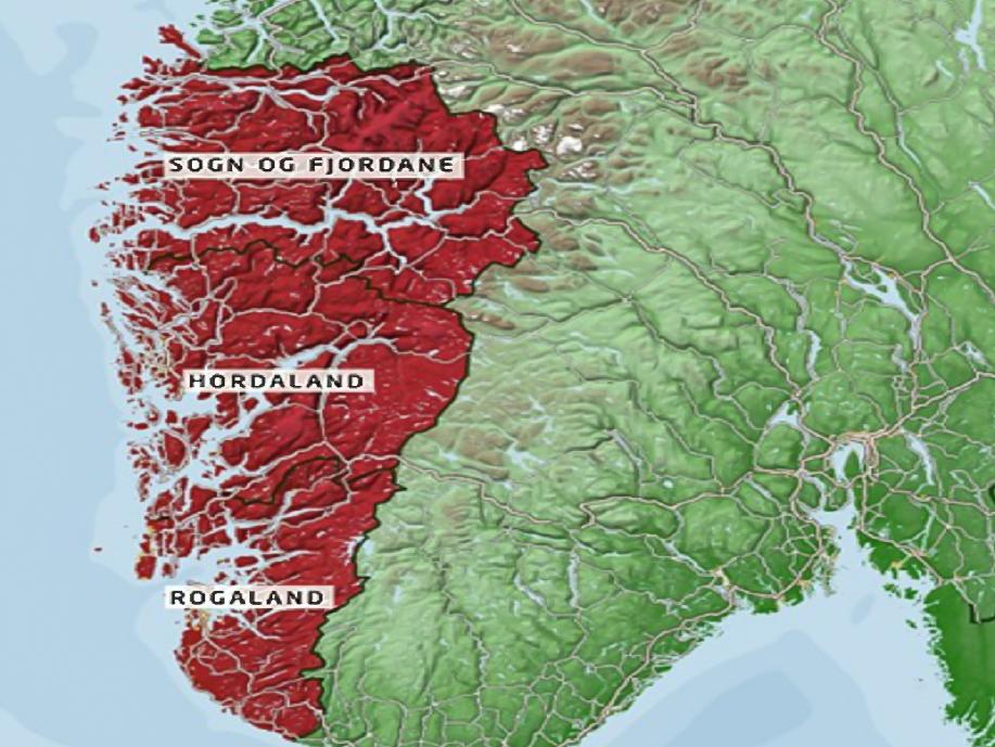 kart over sogn og fjordane Styrer regionreform vidare   Sogn og Fjordane fylkeskommune   Tips  kart over sogn og fjordane