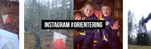 Slik oppfordrer Svenske Orienteringsforbundet sine besøkende til å synliggjøre orienteringsbilder på Instagram.