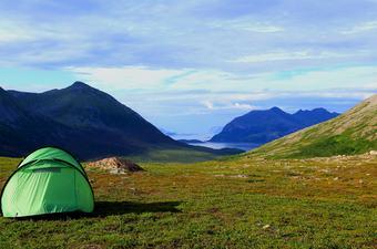 camping i det fri