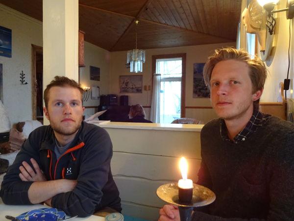 Fotograf Lasse Hansen og Journalist Rasmus Hage Dalland