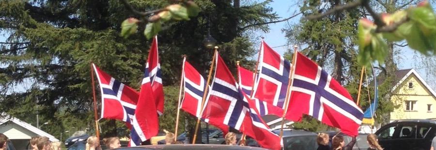 Flaggborg ved heimen