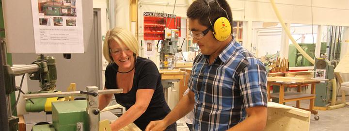 Eid vgs har landsdekkjande tilbod for industriell møbelproduksjon