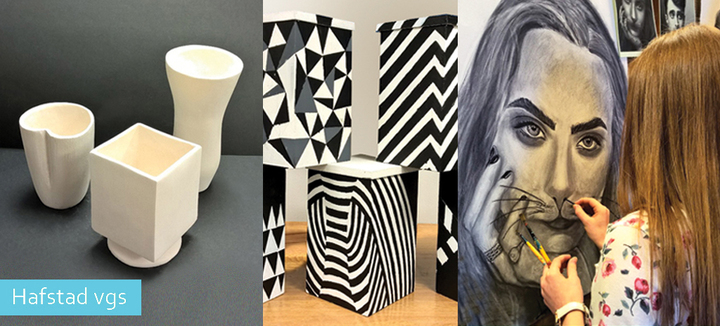 Elevarbeid - Kunst, design og arkitektur