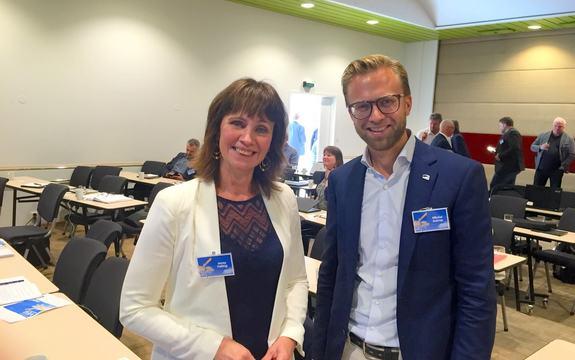 Jenny Følling og Nikolai Astrup