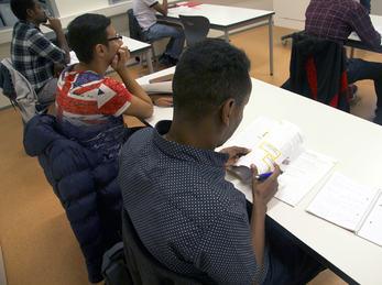 Opplæringssituasjon i klasserom