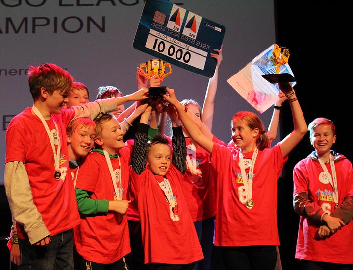 Vinnar av FLL vart Volda Legoklubb