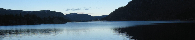 Utsikt frå Byglandsfjord vassverk - Foto: Kjell Lande