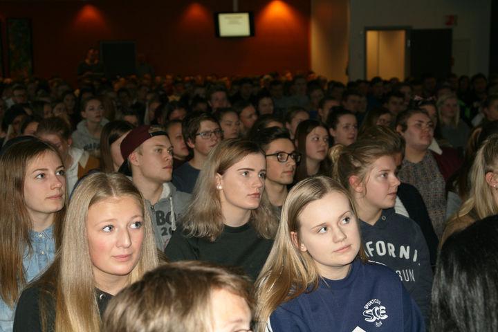 Publikum på Internasjonalt Fokus 2016