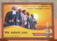 We salute you - Nile Uganda