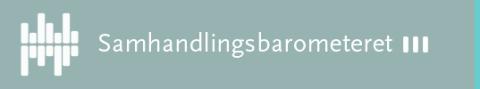 Logo Samhandlingsbarometeret
