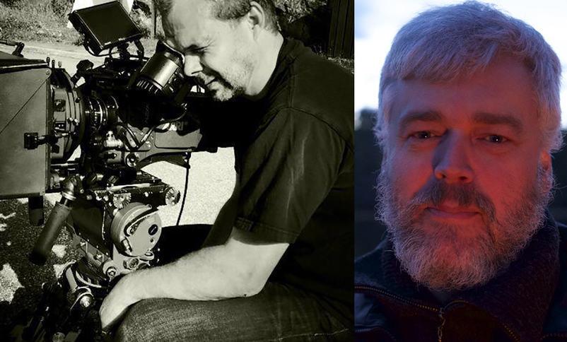 Filmprodusent Einar Loftesnes (t.h.) og fotograf Jakob Ingimundarson kjem til Sogndal Filmfestival 2017.