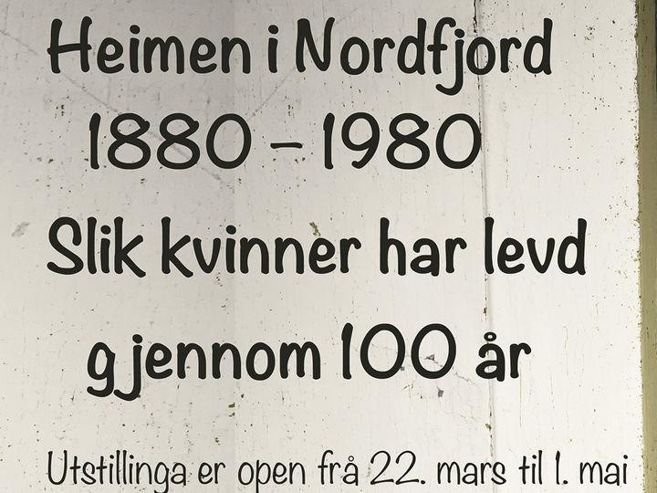 Utstilling ved Nordfjord Folkemuseum